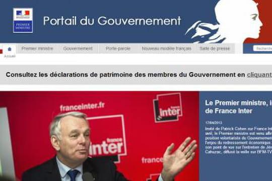 Patrimoine des ministres : comment gouvernement.fr a tenu la charge