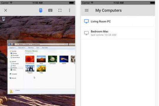 Chrome Remote Desktop arrive sur iOS