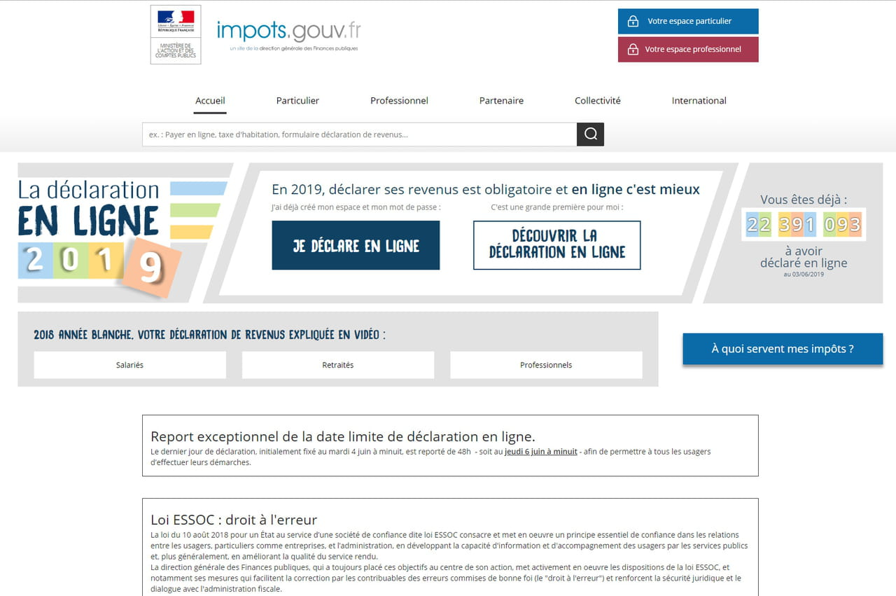 Date De Declaration D Impot Un Delai Supplementaire Pour