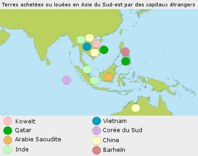 l'asie du sud-est est la destination privilégiée de la chine et de pays