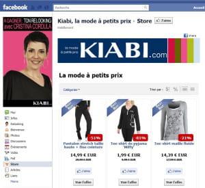 kiabi utilise la solution de boosket pour publier son catalogue sur facebook