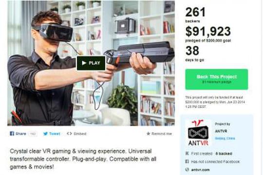 Cette start-up pourrait bien faire de l'ombre à Oculus Rift