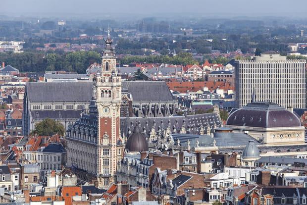 5e : Lille (Nord), +1,82 point de hausse des impôts locaux