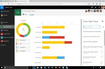 planner est un nouvel outil de la suite lancé en même temps qu'office 2016.
