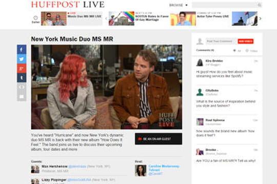 Comment le Huffington Post veut se muer en chaîne d'information vidéo
