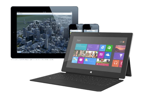 iPad 4 vs Surface : le match des standards Web supportés