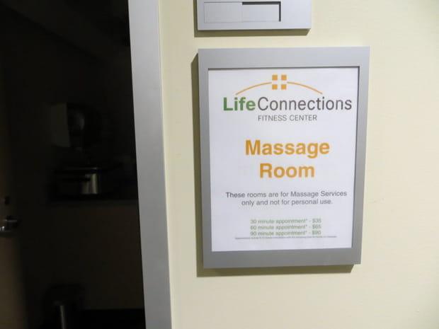 Des salariés récompensés par des massages