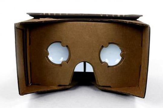 Innovation : Google propose un casque de réalité virtuelle en carton