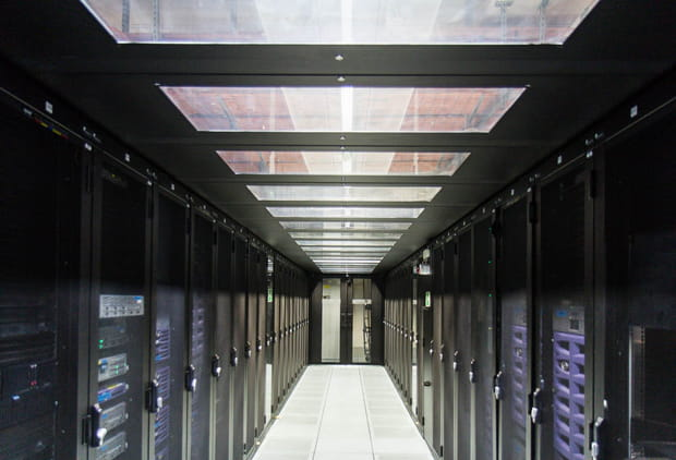 Enbarquez dans le plus grand data center de Bouygues Telecom