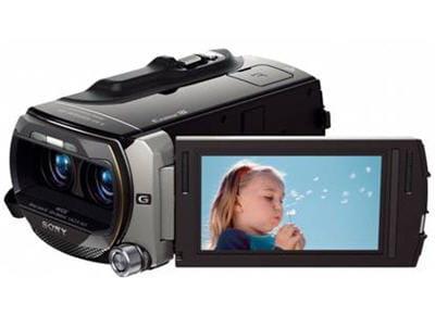 une caméra grand public et 3d
