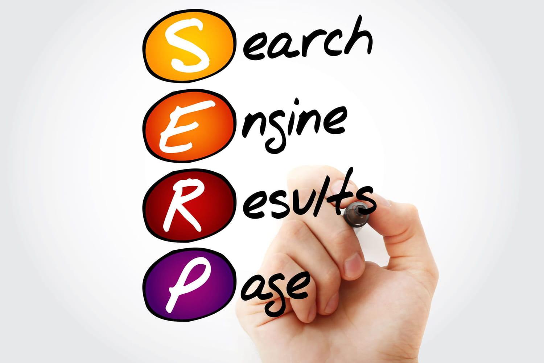 SERP en SEO: définition et exemple