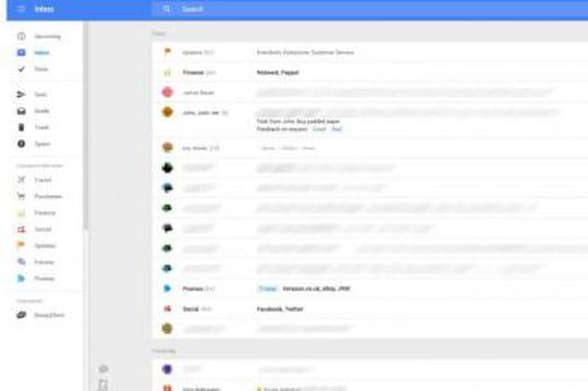 Gmail : Google planche sur une nouvelle interface Web