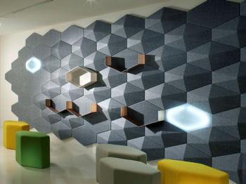 l'echo wall, le mur multifonctions