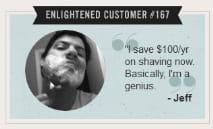 un client ravi des économies réalisées grâce au site