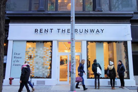 Rent the Runway réinvente la location de robe dans son showroom newyorkais
