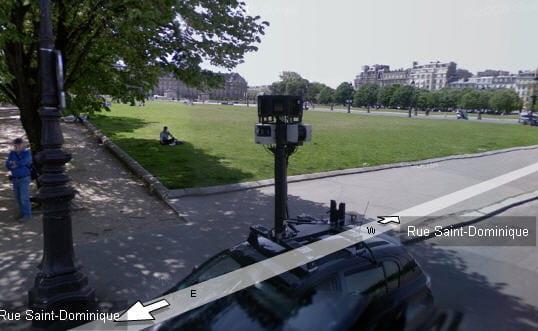 La voiture Google en question