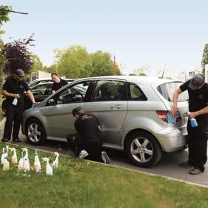 ecolave est une société de lavage auto respectueuse de l'environnement.