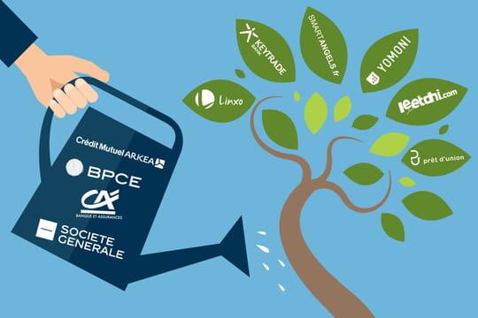 Banques : les start-up sur lesquelles elles misent