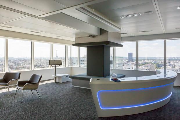 Deux étages entiers consacrés à l'accueil des clients
