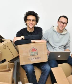adam levy-zauberman et mickaël nadjar, les fondateurs de costockage.fr.