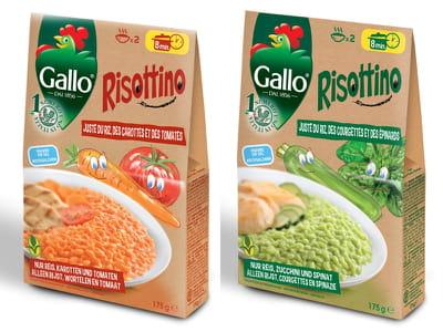 risottino aux légumes de riso gallo.