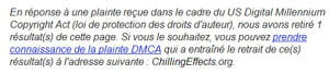 plainte dmca google 300