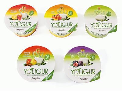 les yaourts à l'huile d'olive yoligurt de casa ametller.
