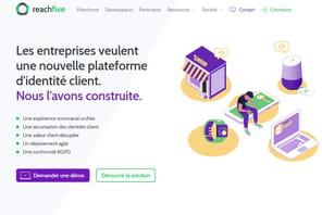 ReachFive lève 10millions de dollars pour son développement en Europe