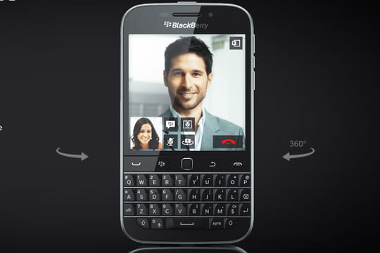 """Blackberry renonce à son emblématique smartphone """"Classic"""" avec clavier"""