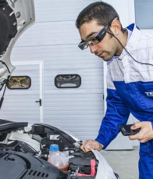 la réalité augmentée se met au service des garagistes désormais.