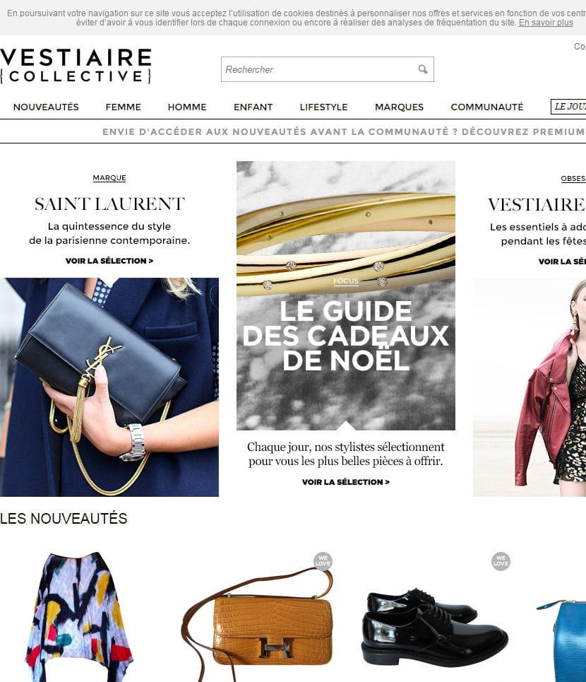 low priced 27c12 47fe8 Vestiaire Collective mise sur le soutien de Condé Nast