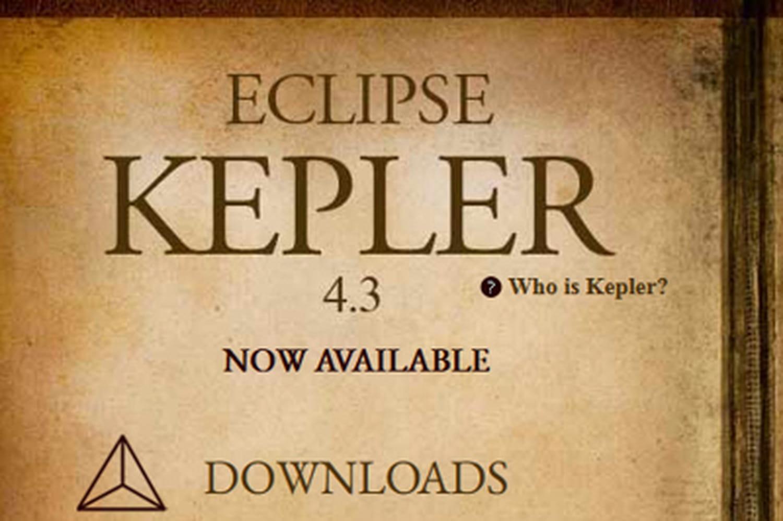 Eclipse Kepler: Java EE7et développement en mode web au programme