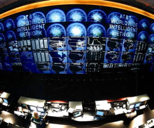 le global network information center d'at&t.