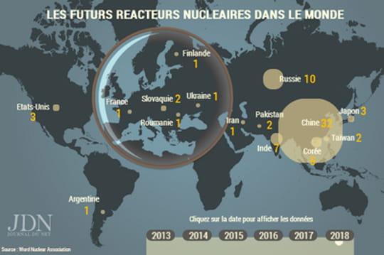 Nucléaire: où seront construits les prochains réacteurs?