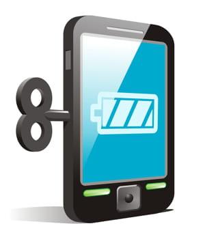 sur certains modèle de téléphone, la batterie est soudée ou collée,donc quasi