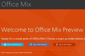 Office Mix : Microsoft teste une version plus interactive de PowerPoint