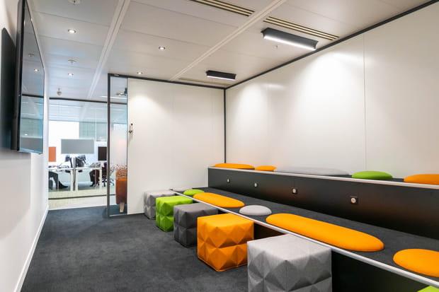 Une agora pour les réunions d'équipe