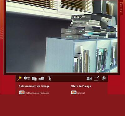 l'image en transparence fait ressortir des objets étrangers sur l'image.