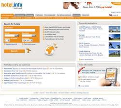 le site allemand hotel.info