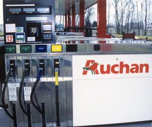le prix du gazole dans les stations auchan a baissé de 2,44% en 2009.