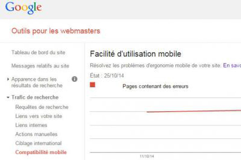 Google Webmaster Tools: nouveaux indicateurs sur le SEO mobile