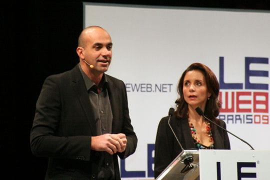 Loïc et Géraldine, les hôtes de LeWeb