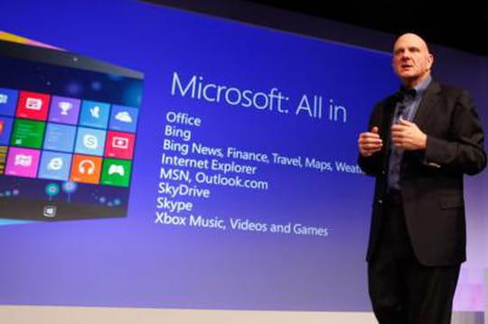 Trimestriels de Microsoft : Windows stagne