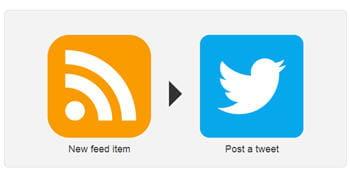 avec ifttt, chaque nouveau fluxrss peut aussi générer un tweet