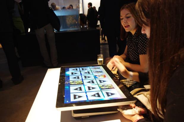 Une exposition autour de Windows 8