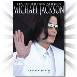 la couverture de l'un des nombreux livres prévus sur michael jackson.