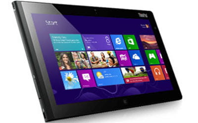 la lenovothinkpad tablet 2 proposera le support du nfc en option.