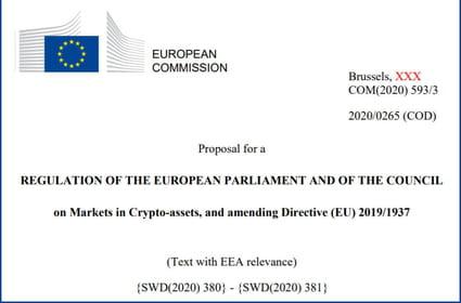 Régime européen pour les crypto-monnaies: sitôt publié, sitôt critiqué