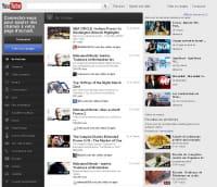 la home de youtube obtient 92/100 sur google speed et 80/100 sur yslow.