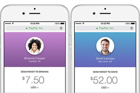 Paypal simplifie le transfert d'argent entre amis